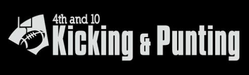 4th and 10 Kicking & Punting logo